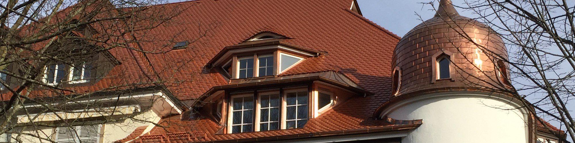 Dach Urachstraße 39 in Freiburg