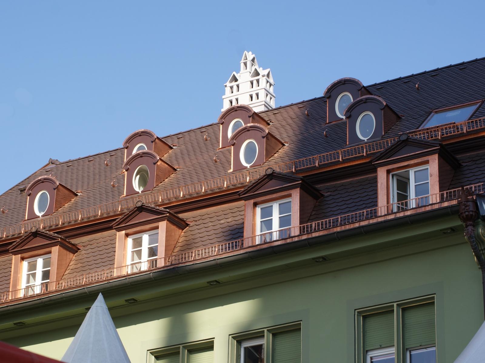Steildachsanierung Münsterplatz 4